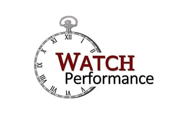 Logo watch performance
