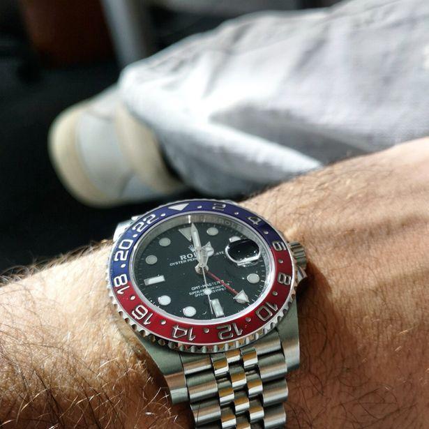 """Rolex GMT Master 2 """"Pepsi"""""""
