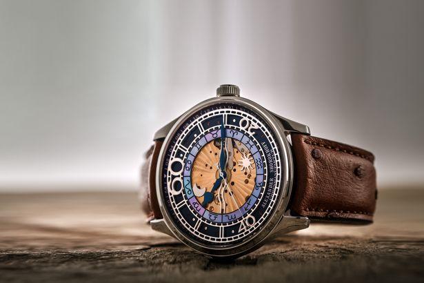 Das Modell Babylonian der Uhrenmarke ALexander Shorokhoff